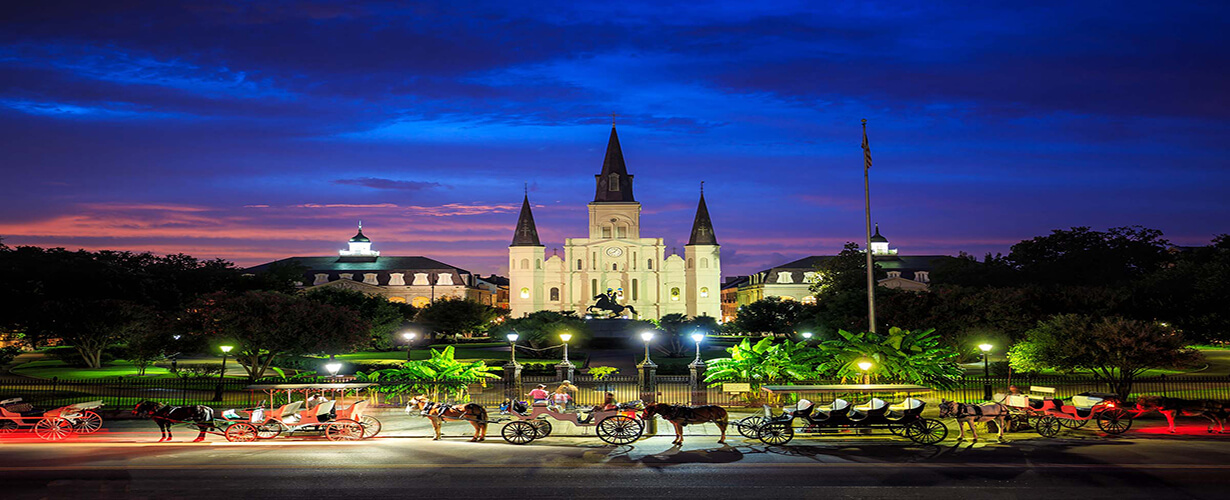 Jackson Square in French Quarter New Orleans